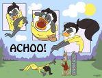Achoo! for GreyofPTA colored by megs83