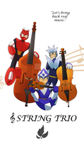 String trio by zavraan