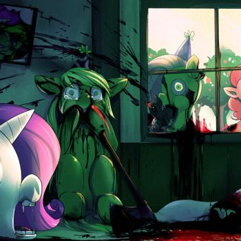 Our last party (Warning : Explicit Gore) by bakki