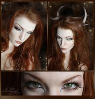 Faun - Makeup by TatharielCreations