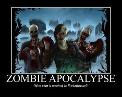 The Zombie Apocalypse by XVeris