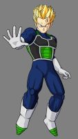 Jens SSJ 19 Years Old by JensTheSaiyan