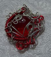 Wire pendant 165 by Kimantha333