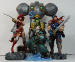 Battle Chasers by SKBstudios