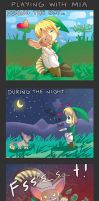 -- Zelda Skyward Sword: A day with Mia -- by Kurama-chan