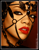 Rihanna Colorization by lakeela