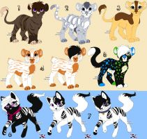 Kamirah Adoptable Cats by Hydro-puppy7