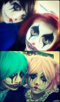 Clowns by Shenaniganzs