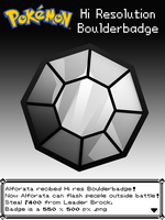 Hi Resolution Boulderbadge by Alforata