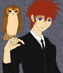 Rod With Owl by CopperMoon