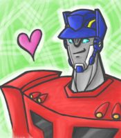 TFA: Smile and be Optimus-tic by PirateNikki