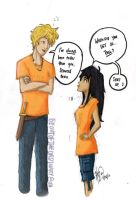Rule 63 - fem!Percy has height issues too. by beoutoftheordinary