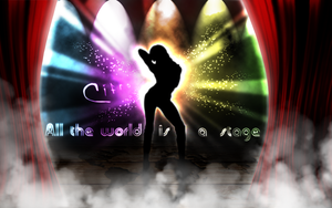 All the world is a stage by Cifro