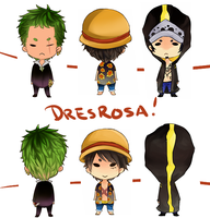 Dresrosa arc by thehairypeach