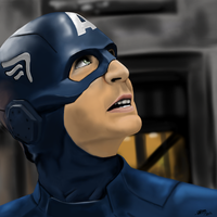 Captain America by puddlecat1