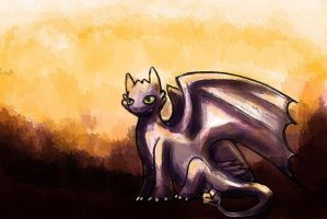 Toothless by jesseuhhyeah