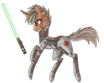 Jedi Pony by raptor007