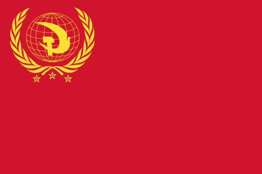 Communist Flag for Britain by Wyyt