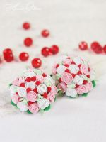 Bouquets of roses by OrionaJewelry