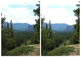 Banff  Stereoscopic by eternalrabbit