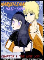 NaruHina: Maid-Sama Chapter 1 cover: The  New Job by Ekush