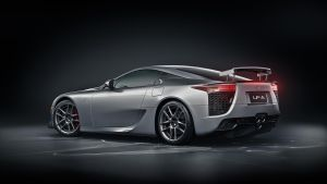 Lexus LFA Silver Back by NasG85