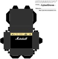 Cubee - Marshall Amp 1 by CyberDrone