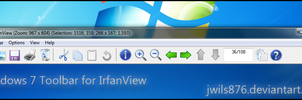 Win7 Toolbar for IrfanView by Drudger