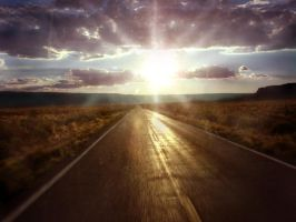 Arid Road to Light by Scarecrowlover