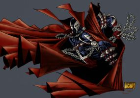 Spawn-an oldie of mine by KenHunt