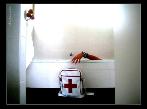 Bath Tub Freak _ First aid by umkirstn