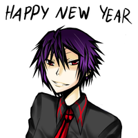 Alex 'Happy New Year' by Yandere-Chiru-Chan