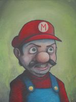 MARIO'S OUT FOR REVENGE by jamesconstantine