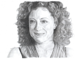 Sketch: River Song by IslandWriter