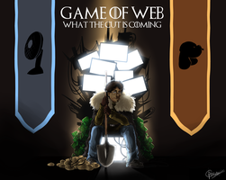 Game of Web - What The Cut is coming by Archetype-Raven