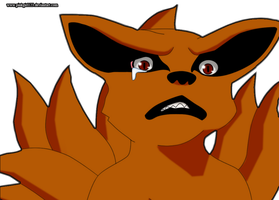 Kurama cry 572 by PinkGirl123
