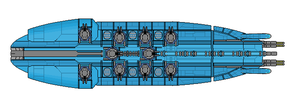 K'mahda Kha'ha-Keh ( Killing Strike )Battleship by wbyrd
