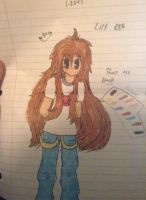 Main OC redraw - Lily REF by Yamii-chann