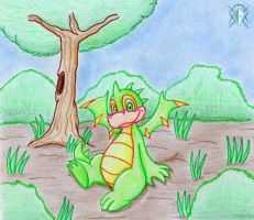 Green Scorchio by Meteor-05