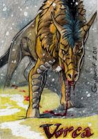 Aceo - Vorca by Grypwolf