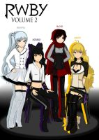 Team RWBY Volume 2 by DGsilv3r