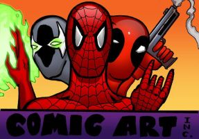 COMIC ART INC. COLOR by PeterPalmiotti