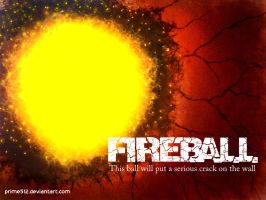 Fireball Red by prime512