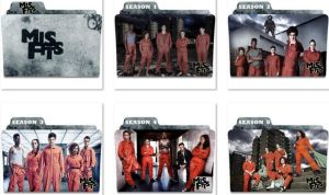 Misfits Folder Icons by nellanel