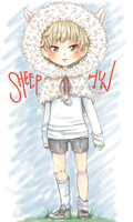 [EXO] Sheep!Sehun by jaljello