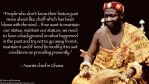 Asante Chief on the Importance of History by AmericanDreaming