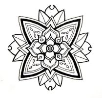 Flower Mandala by the3rdplanet