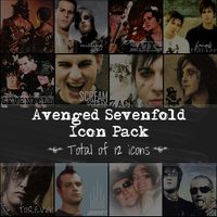 Avenged Sevenfold Icon Pack by alyssa2590