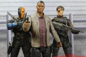 John Diggle and the New Suicide Squad by GhostLord89
