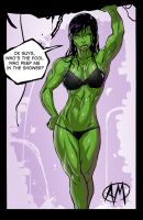 She Hulk Shower by Ganassa